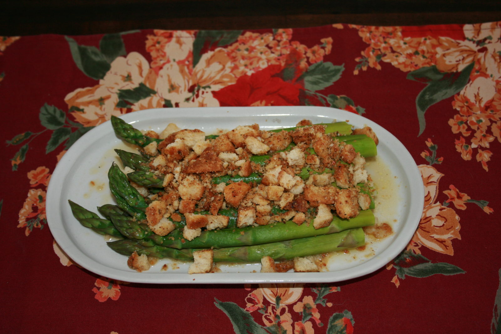 asparagus with Parm Pepper